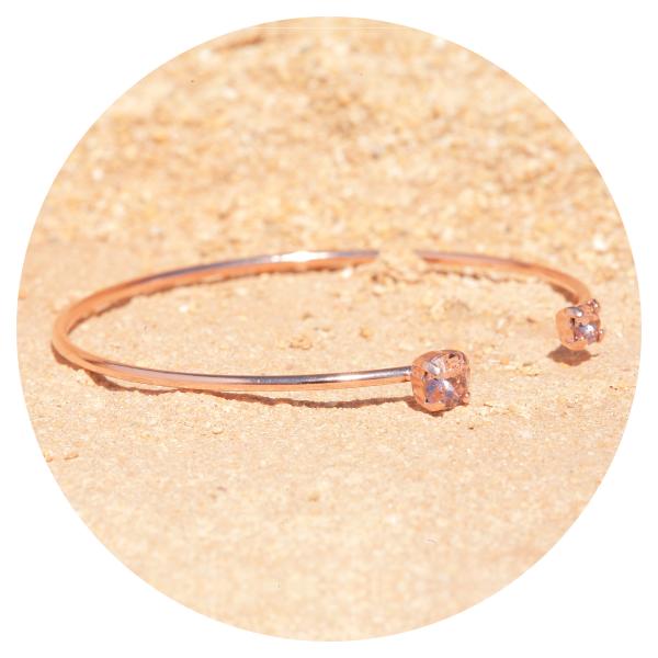 Artjany bracelet vintage rose rose gold | artjany - Kunstjuwelen