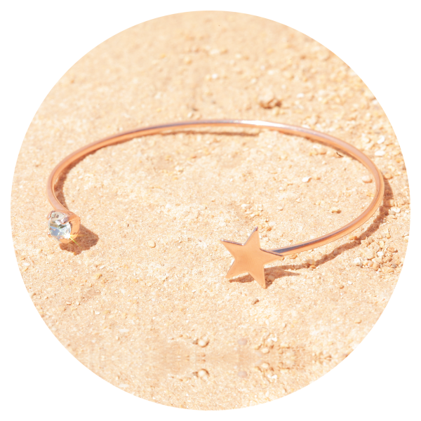 Artjany arm brace light azore rosegold | artjany - Kunstjuwelen
