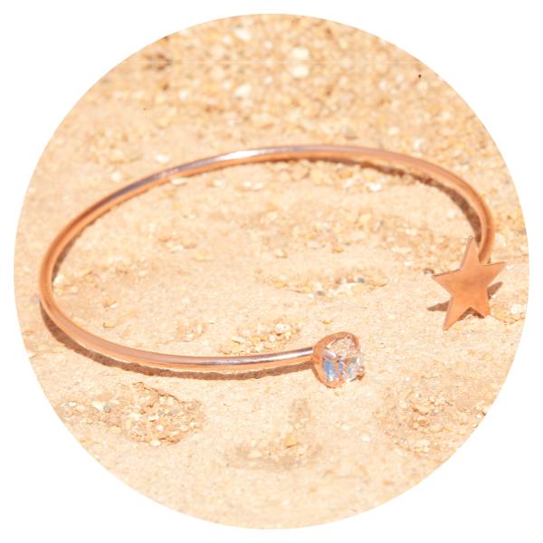 Artjany bangle silk rose gold | artjany - Kunstjuwelen