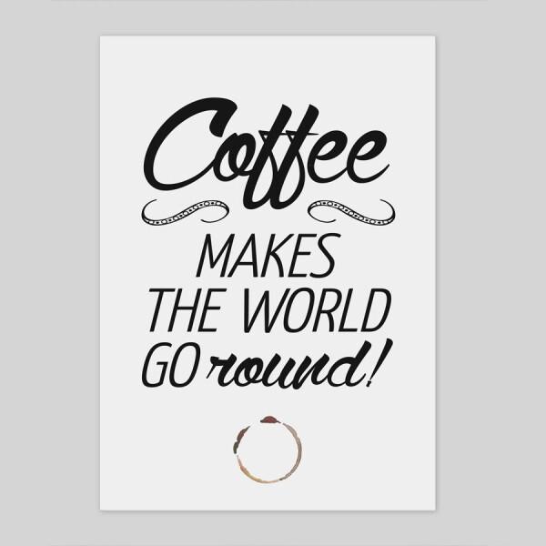 A4 type print 'Coffee' | Amy and Kurt Berlin
