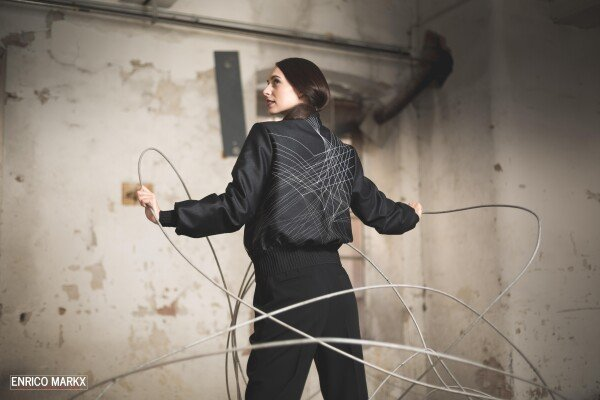 Blouson with embroidery | Wiebelhaus SIMPLY WEAR