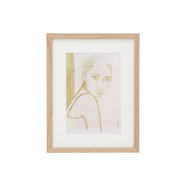 STELLA print in a wooden frame from HK Living   Südseite