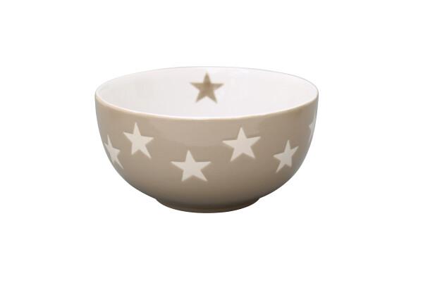 Bowl Brightest Star TAUPE Krasilnikoff | WohnGlanzVilla