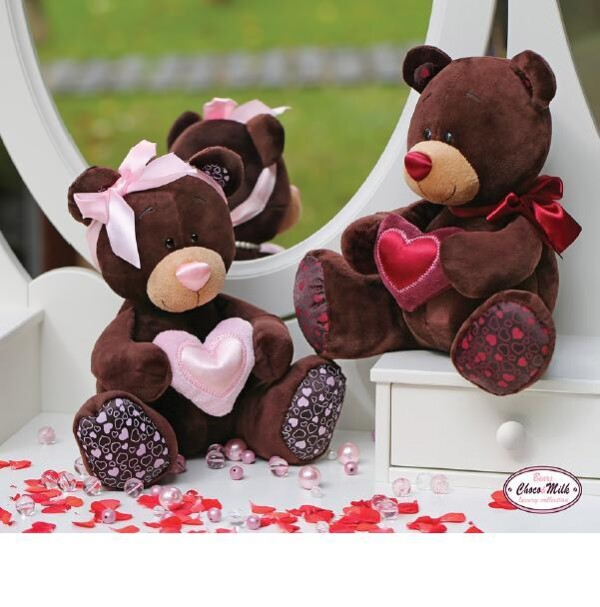 lovely bear with red heart | echt bärig