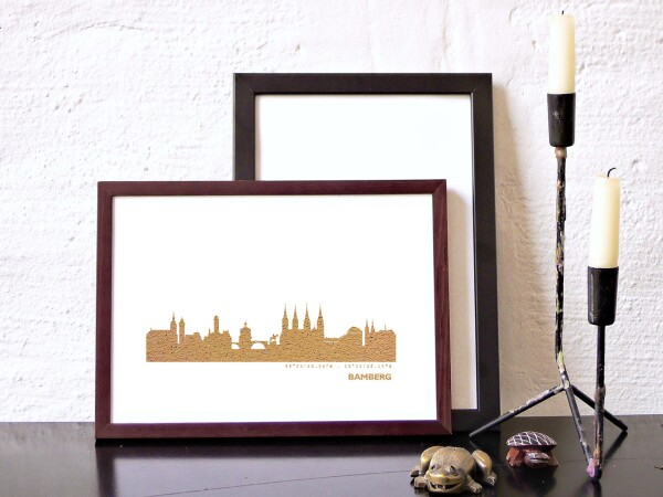 Artprint Bamberg in rose gold | 44spaces