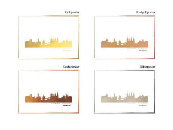 Artprint golden Bamberg   44spaces