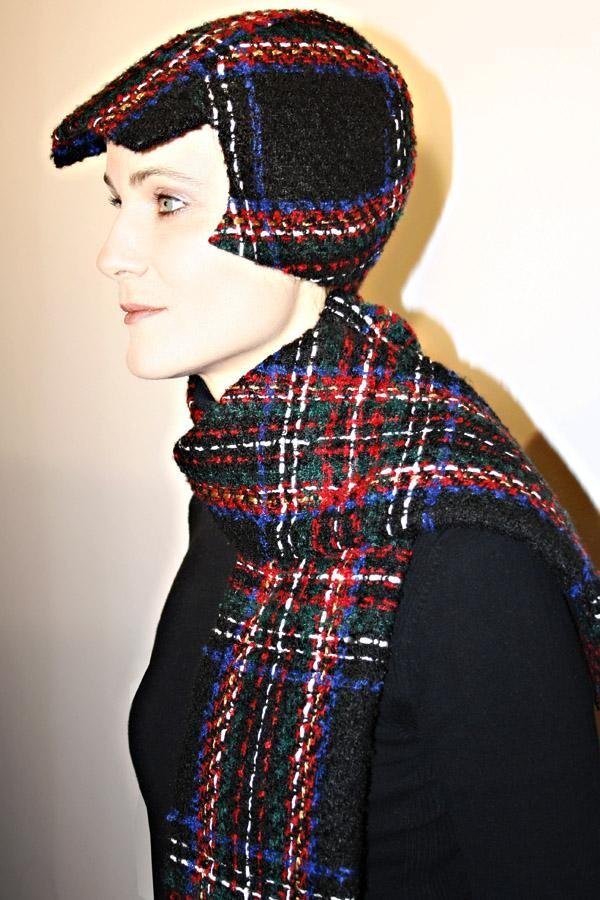 Checkered cap BELA_176 | MOLOTOW