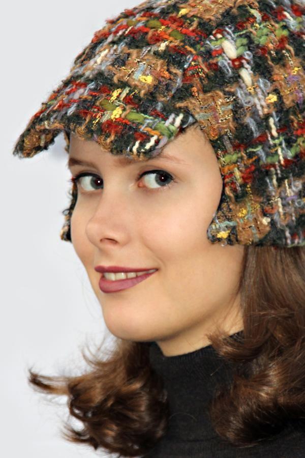 colorful checkered cap BELA_225   MOLOTOW