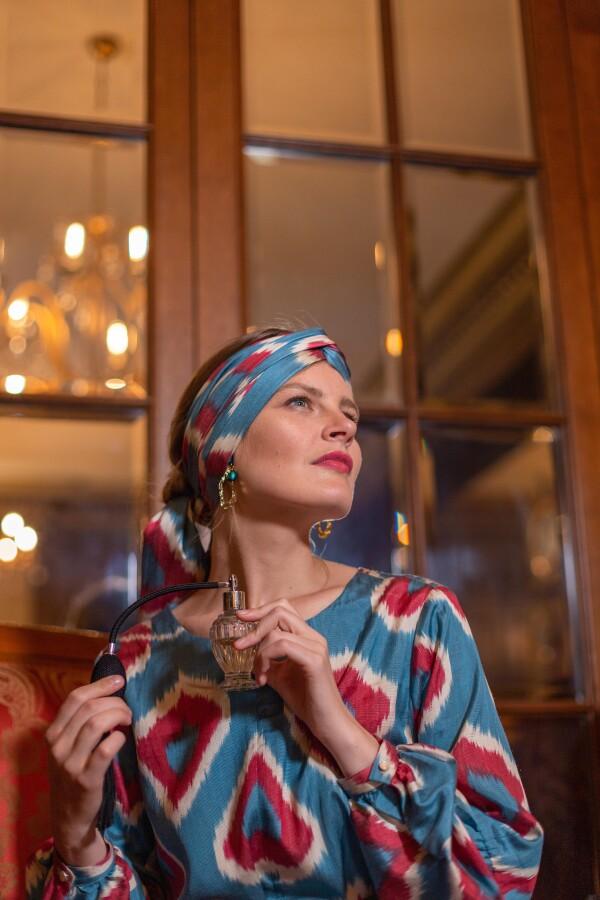 Ikat dress Belle | Textilerei Mannheim