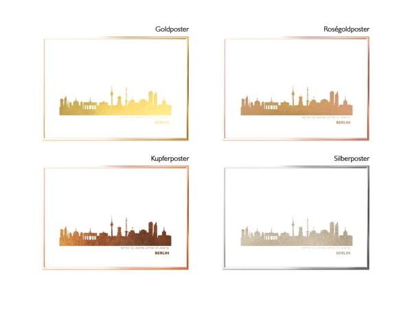 Kunstdruck Skyline