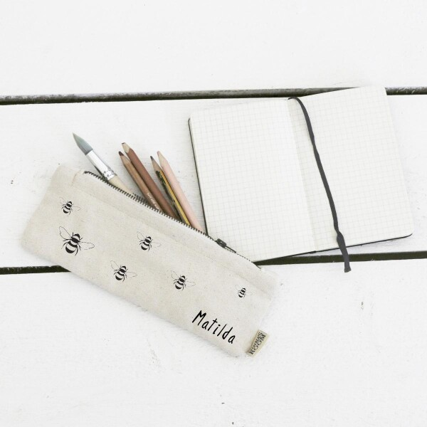 Bee Pencil Case With Name | Minna's Room