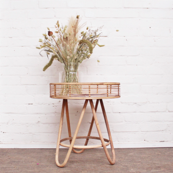 SIDE TABLE - BAMBOO - ROUND - IB LAURSEN | mill