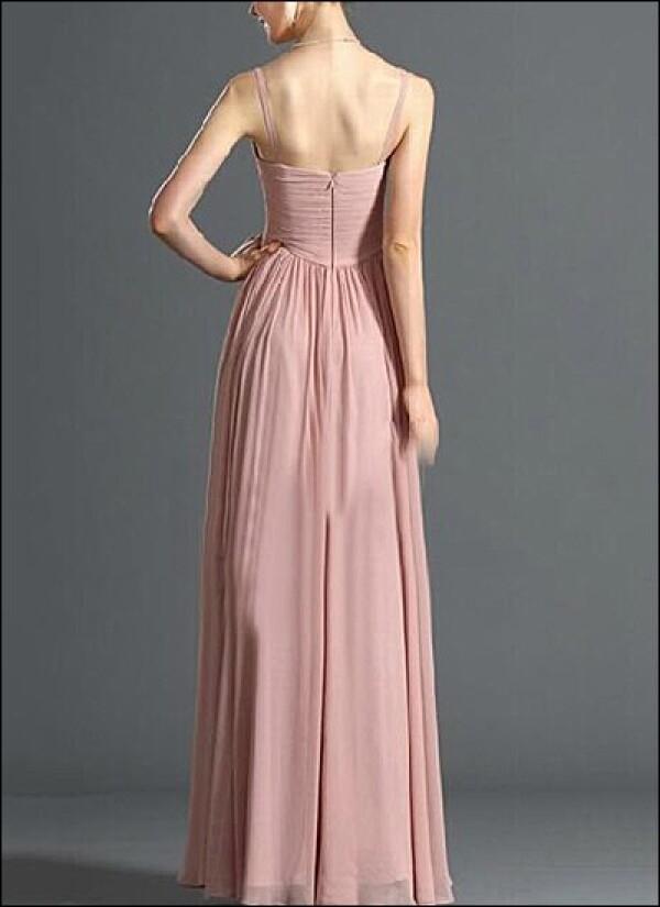 Evening dress made of chiffon v-neck | Lafanta | Braut- und Abendmode