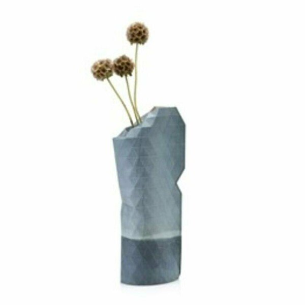 Paper Vase Small Watercolor Blue | 1st Tannendiele BlumenGut