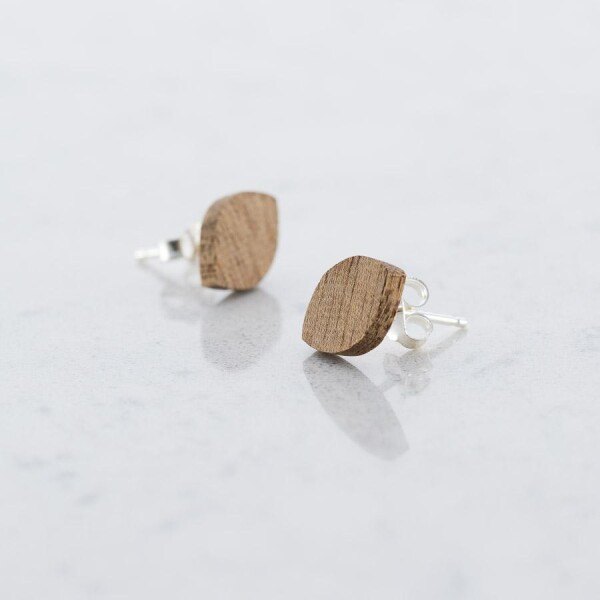 Wood Sapele OVALE EARPLUGS | Debosc