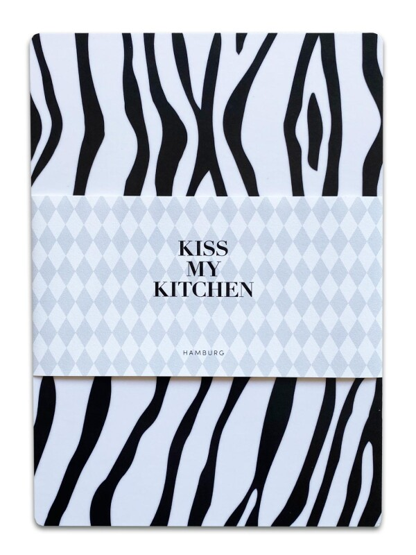 Breakfast board Kiss My Kitchen - Wild White | buchenblau®