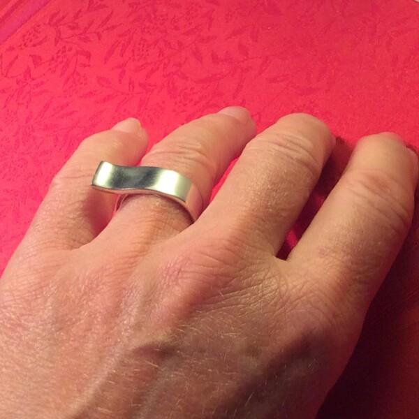 Designer ring silver   Atelier Schmuck Tönnissen