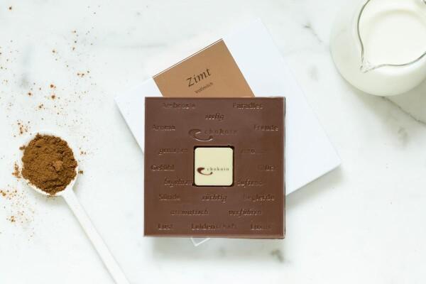 Noble milk chocolate bar with cinnamon | chokoin