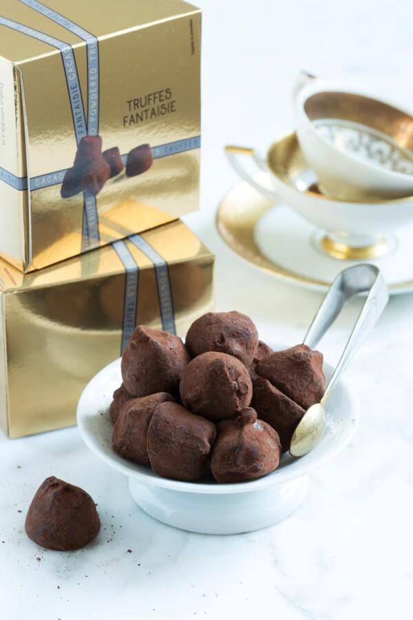 Mathez truffle pralines nature 100g | chokoin