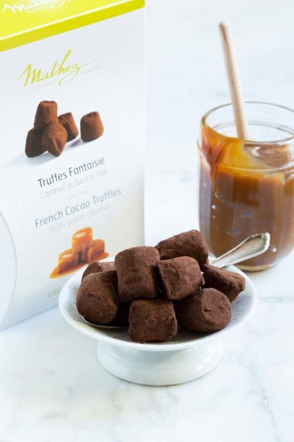 Mathez Trüffelpralinés caramel au beurre Salé | chokoin