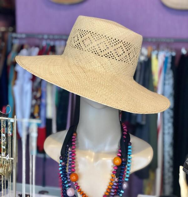 Iraca Hat - Panama Straw - Panama Hat   Bizar_Cologne