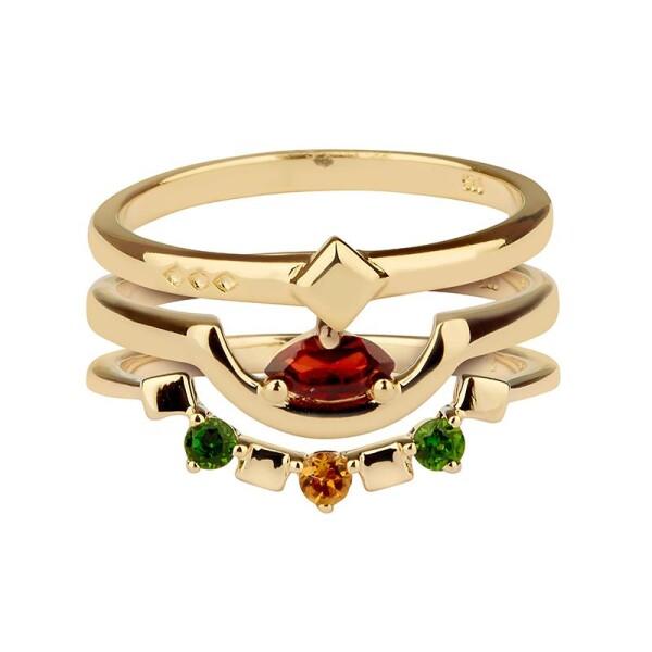 Daring triad ring   Carolin Stone Jewelry