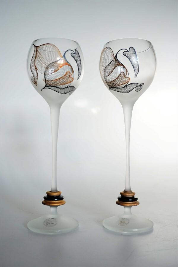 Loggia red wine glasses set 2   Design Elena