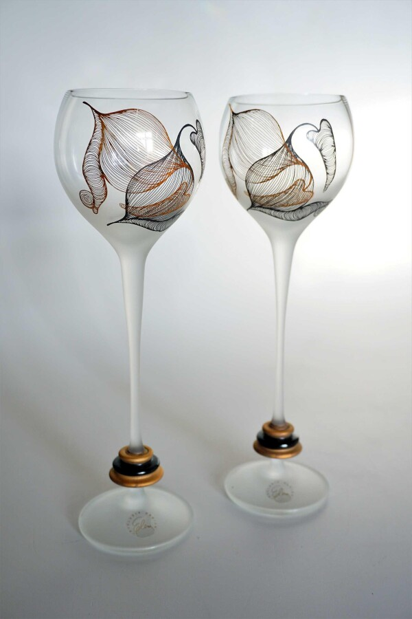 Loggia white wine glasses set | Design Elena