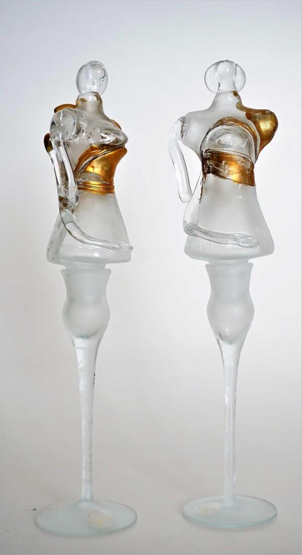 Sculpture bottle set of 2 | Design Elena