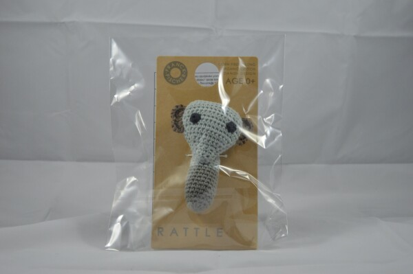 Baby rattle elephant | LAND- KINDer
