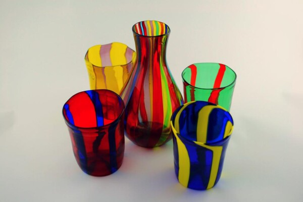 Murano Glass Blown Bottle