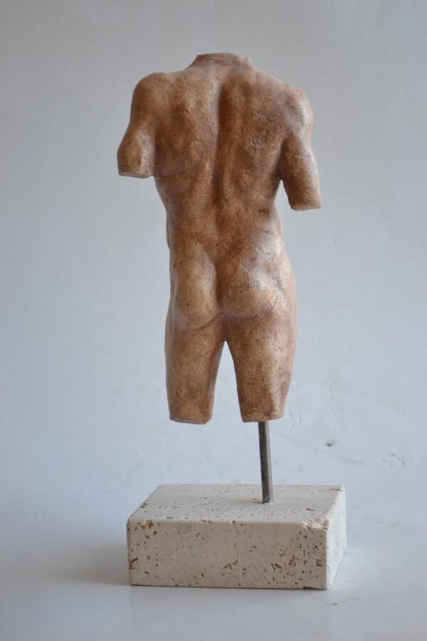 Little Torso - refractory ceramic | Todini- sculture d'arredamento