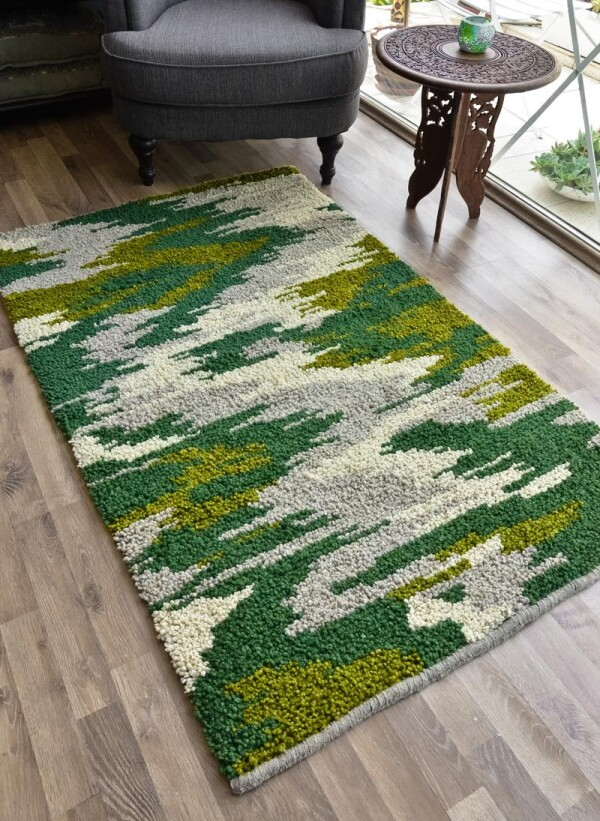 Wool rug - Camouflage | Ariee Home & Gifts