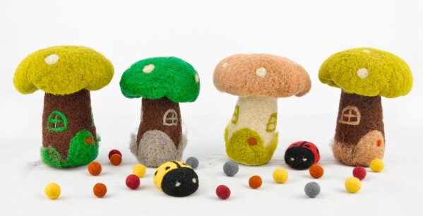 Felt mushroom | Ariee Home & Gifts