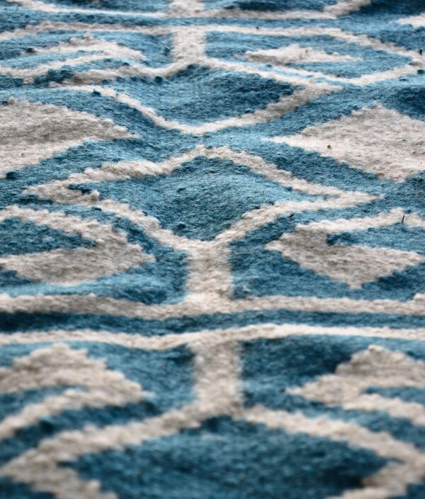 Kilim - Bereket in Blue | Ariee Home & Gifts