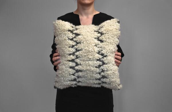 Kilim wool pillow - Sheepy sheep   Ariee Home & Gifts