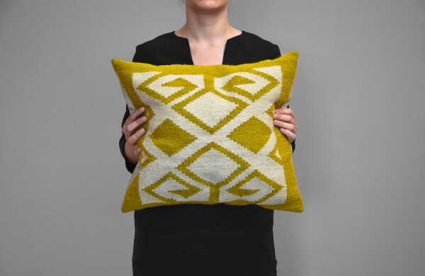 Kilim wool cushion - Bereket | Ariee Home & Gifts