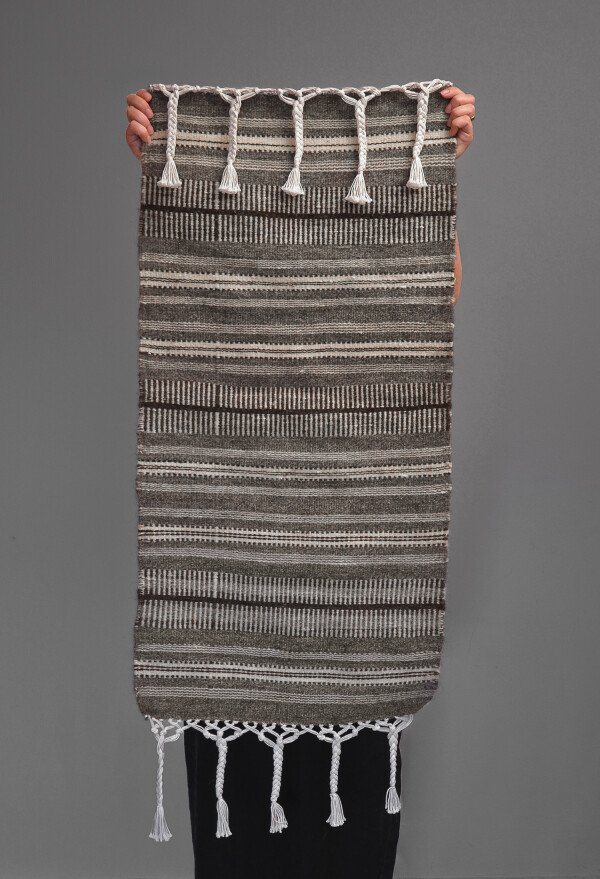 Kilim runner_Grey | Ariee Home & Gifts