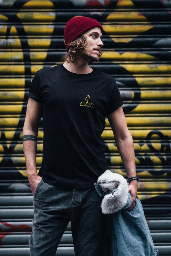 GMC T-Shirt LOCAL black / yellow | Magasin 2