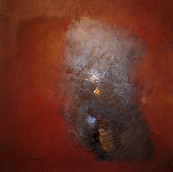 Franck Duminil - abstract Brown | HS Kunst-Galerie