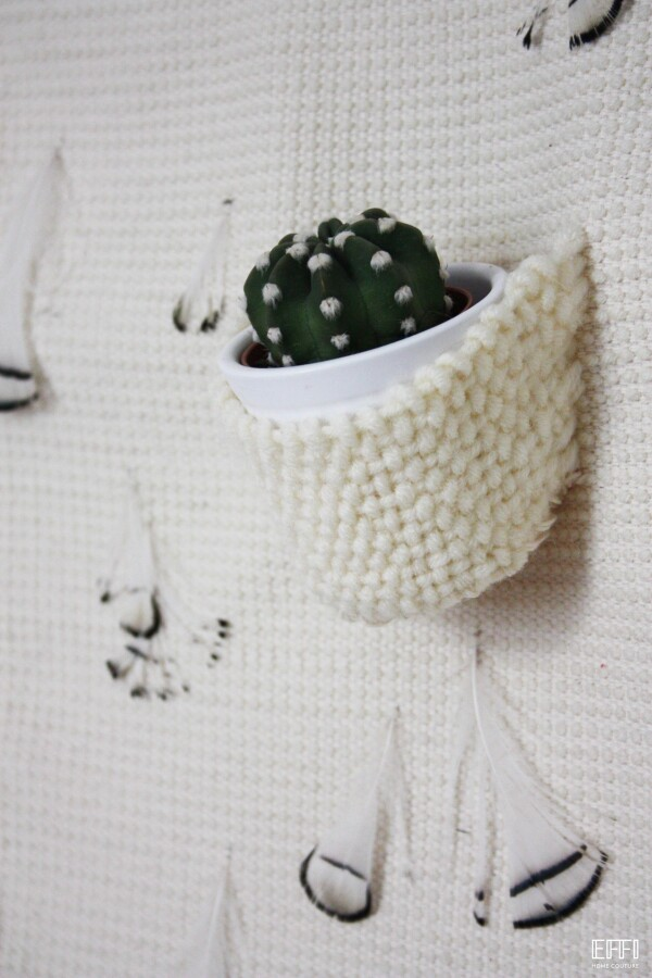 Wall hanging 'CACTACEAE' | EFFI HOME COUTURE