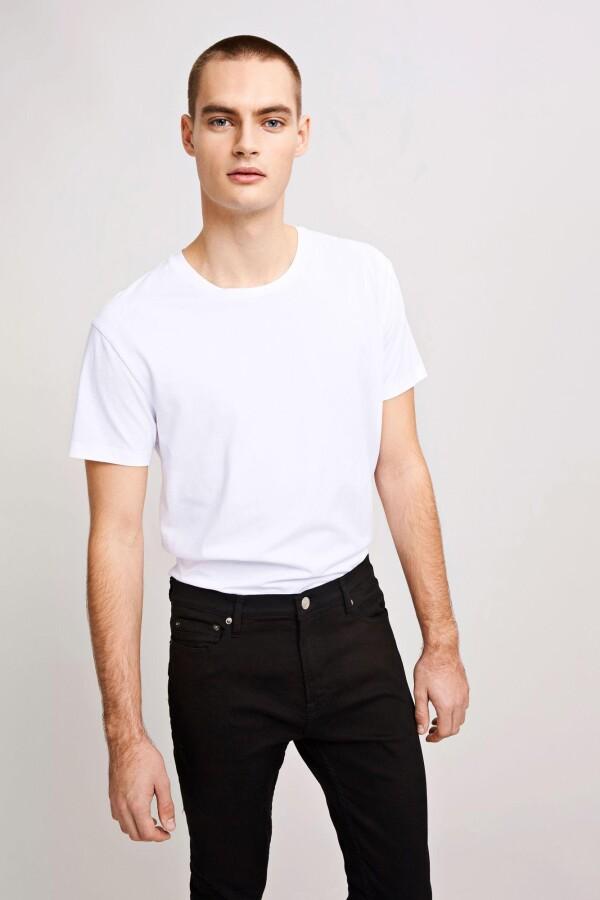 SamsoeSamsoe White Kronos T-Shirt   MAERZ