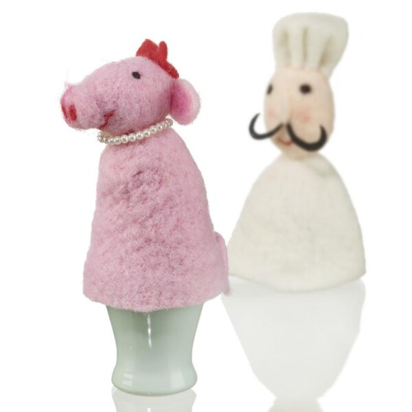 Lucky pig egg warmer from Baden Import | Das Lädchen
