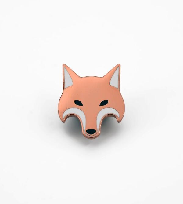 Fox Enamel Pin   ESCA