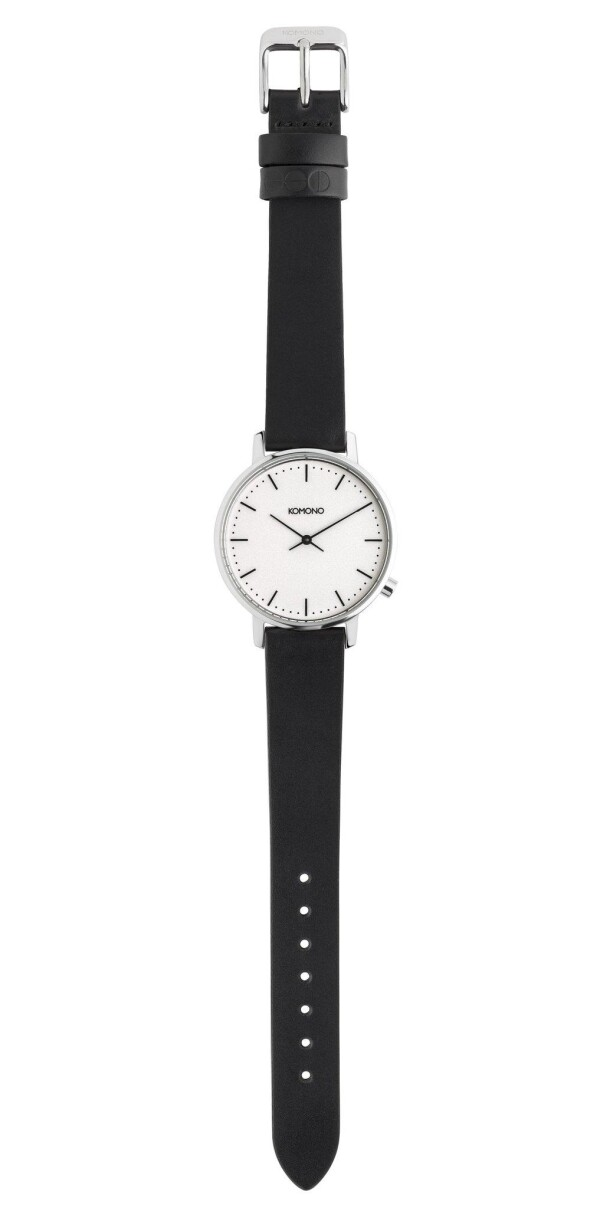 Komono black and white Harlow watch | MAERZ