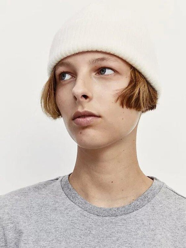 Le Bonnet Beanie Snow | LAMARI BERLIN