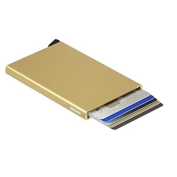 Secrid Cardprotector Gold | LAMARI BERLIN