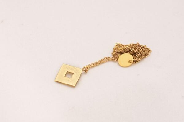 Lucia Eye Chain Gold Ancestral Design | Bizar_Cologne