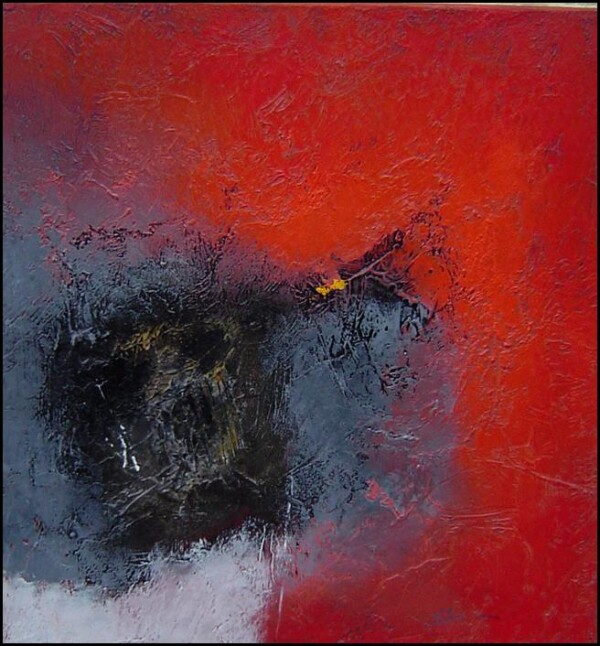 Franck Duminil - abstract Red  | HS Kunst-Galerie