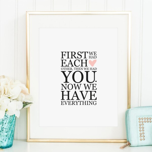 Tales by Jen Art Print: Now we have everything | Tales by Jen